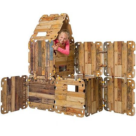 Kartonnen bouwpakket fort
