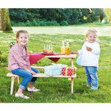 tuinbank set kinderen