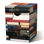Stapel boeken krukje